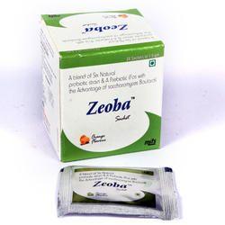 Six Natural Probiotics Strains,Prebiotic Fructo Oligo Saccharides & Zinc Sachets