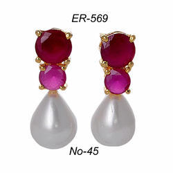Stone Fashion Earring