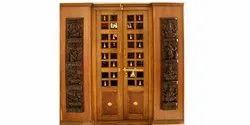 SRI Karpagam Pooja Room Doors