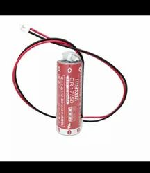 Maxell Lithium Battery ER17/50 3.6V 2750mAh PLC Battery with white connector