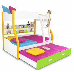 Columbia - Bunk With Trundle Bed