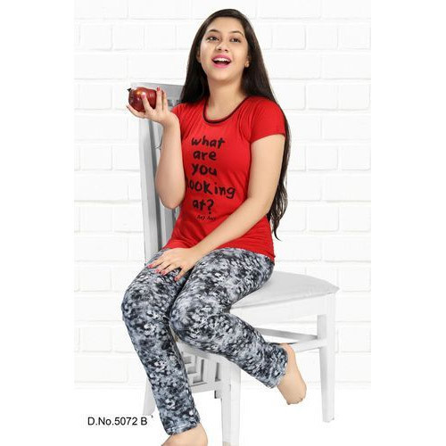 Hosiery Cotton Girls Night Suit Size 4 To 16 Rs 270 Set Id