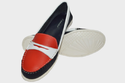 Leather Boston Loafer Multi Shoes