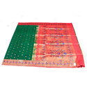 Multicolor Printed Pure Katan Silk Saree, Size: 5.30 Meter