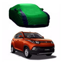 Green And  Blue Car Body Cover