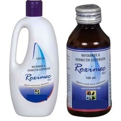 Rafoxanide And Invermectin Suspension, 100 Ml And 1000 Ml