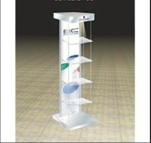 Exhibition Stand Shelves : Nesting plinths acrylic retail riser counter exhibition display