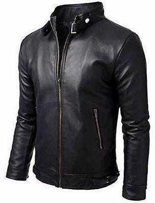33282c90e59 Black Alfie Men Leather Jacket