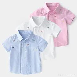 Kids Cotton Casual Shirt