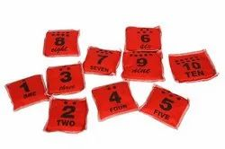 Numbered Bean Bags 1-10