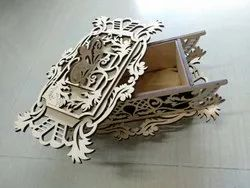 Brown Decorative Creative Wooden Box for Home