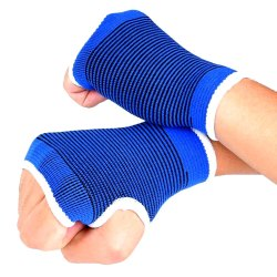 Elastic Brace Gym Sports Support Wrist Gloves Hand Palm Gear Protector