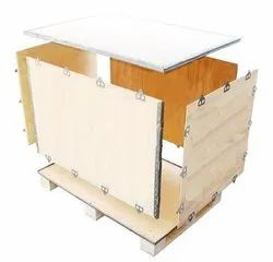 Plywood Nailless Export Box, Weight Holding Capacity(Kg): >1000 Kg