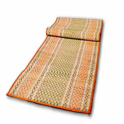 Multicolor Korai Natural Fibre Yoga Mat