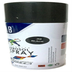 Black Aerosol Spray Paint