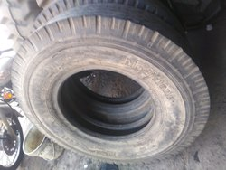 Second hand tyre