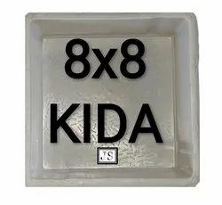 Kida Silicone Plastic Paver Mould