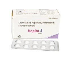 L-Ornithine-L-Aspartate , Pancreatin ,Silymarin Tablets