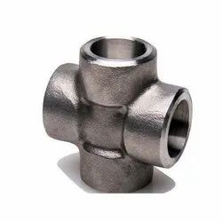 Stainless Steel Socket Weld Equal Cross