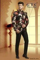 Party Black Jodhpuri Suit
