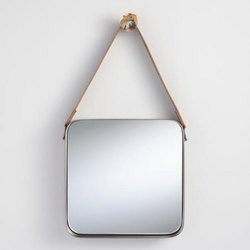 Wall Mirror Square With Rope