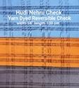 Yarn Dyed Reversible Check (Hudi Nehru Check)