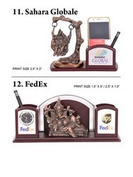 Wood Table Top Pen Stands, For Corporate Gift