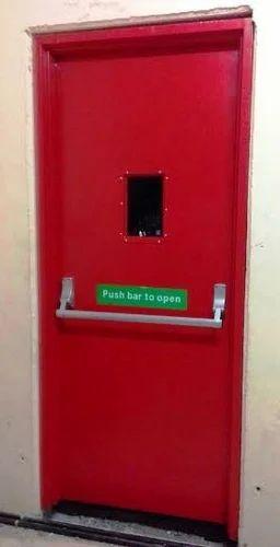 Swing Single Door Emergency Escape Door Thickness 45 Mm