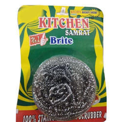 Kitchen Samrat Stainless Steel Scrubber