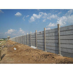 RCC Folding Concrete Compound Wall