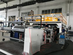 High Speed 3-5 Layer Bubble Film Making Machine