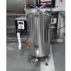 Floor Mounted Vertical Autoclave