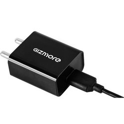 1 Meter Black Gizmore 2A Fast Mobile Charger