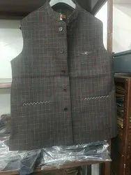 Sleeveless Nehru Mens Party Wear Modi Jacket