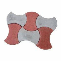 Concrete Damru Paving Blocks