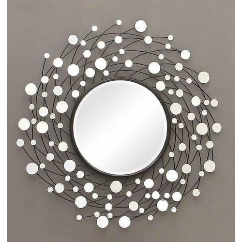 Glass Decorative Round Wall Mirror Packaging Type Box Rs 2500 Piece Id 20470729448