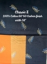 Printed Kamlesh Textile Cotton Carbon Finish Shirting Fabric (classic Z), Gsm: 150-200 Gsm, For Shirt Making