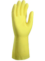 Unlined Natural Latex Household Gloves