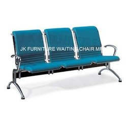 Three Seater SS Hospital Waiting Chair