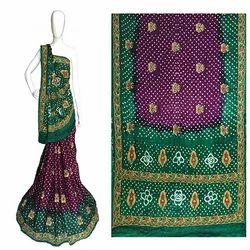 Gajji Silk Rich Pallu Saree