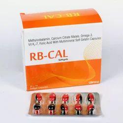 Methylcobalamin, Calcium Citrate, Omega-3,vit K2& Folic Acid
