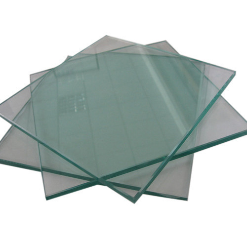 Transparent Toughened Glass, Shape: Flat