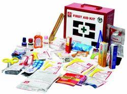 Steel Box C Industrial First Aid Kit Small - Metal Box - SJF M4, for Standard, Model Name/Number: SJF-M4
