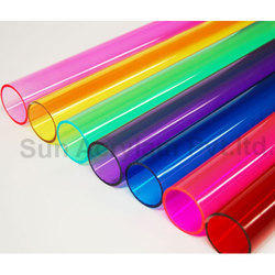 Color Acrylic Pipe