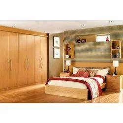 Wooden Brown Modern Bedroom Furniture Sets