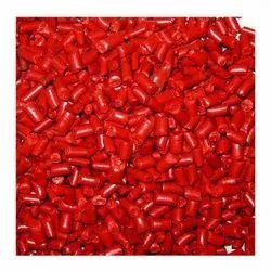 Poly Propylene Red PP Granules, 0.8 - 0.9 G/Cm3, Packaging Type: Bag