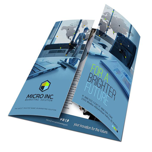gate fold brochure design services in shahadara delhi i r