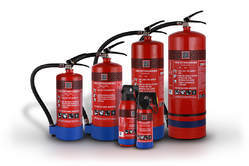 ABC Powder Based Cartridge Fire Extinguishers, Capacity: 4 Kg