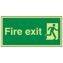 Fire Exit Signage Board