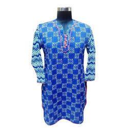 Indigo Blue Women Kurtis